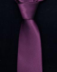 black tie on a white background