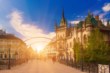 View of Jakabov Palace in the old town in Kosice, Slovakia Fototapete