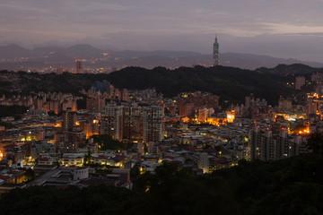 Active night life in Taipei, Taiwan