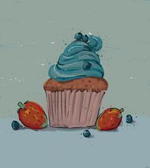 Muffin mit Haube