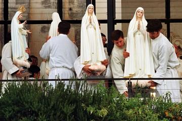 FILE PHOTO OF THE CERIMONIES ON THE FATIMA SHRINE IN PORTUGAL.