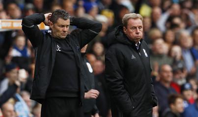 Birmingham City manager Harry Redknapp looks dejected