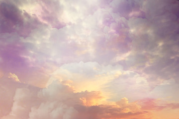 Clouds sky background watercolor colors blur