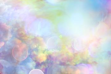 Clouds sky background watercolor colors blur