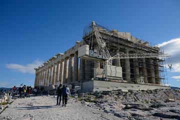 akropolis, grekland, aten