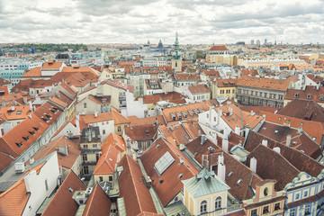 Rooftops From Old Town, Prague, Czech Republic