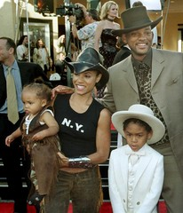 FILE PHOTO OF WILL SMITH AND JADA PINKETT WITH CHILDREN.