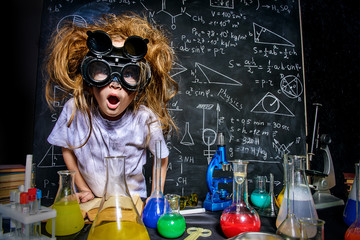 crazy little scientist