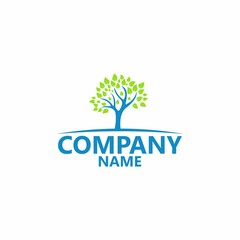 Natural Tree Logo Template