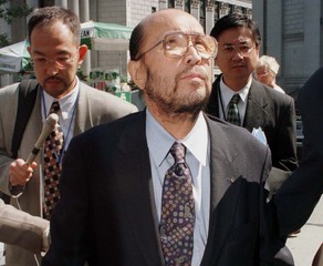 JAPANESE CHARGED IN STOLEN ART CASE LEAVES COURT IN NEW YORK