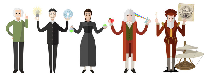 great science people from all the times