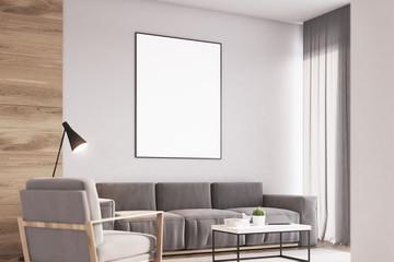 Living room, armchair, wood, side