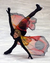 VANESSA GUSMEROLI OF FRANCE PERFORMS DURING GALA PROGRAM IN PRAGUE.