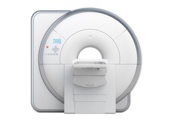 MRI Magnetic Resonance Imaging Scanner, 3D rendering