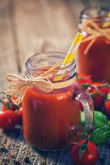 Fresh Homemade Tomato Juice
