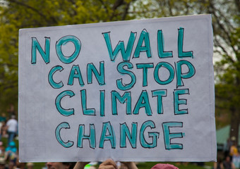 No wall can stop climate change