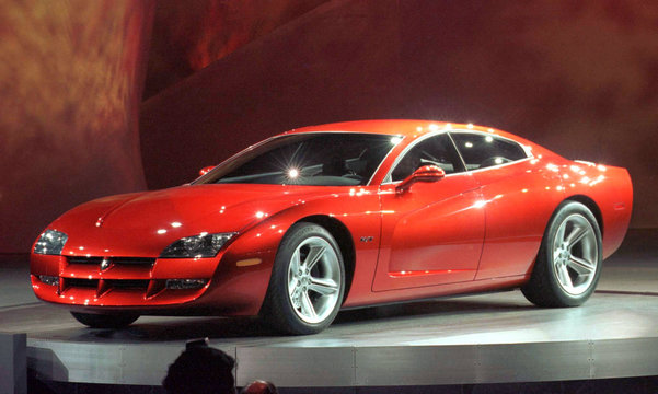 Based on the famous Dodge Charger muscle car of the '60s, the Dodge Charger R/T concept car introduc..