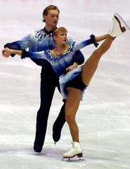BERANKOVA AND DABOLA OF CZECH REPUBLIC PERFORM IN PRAGUE.