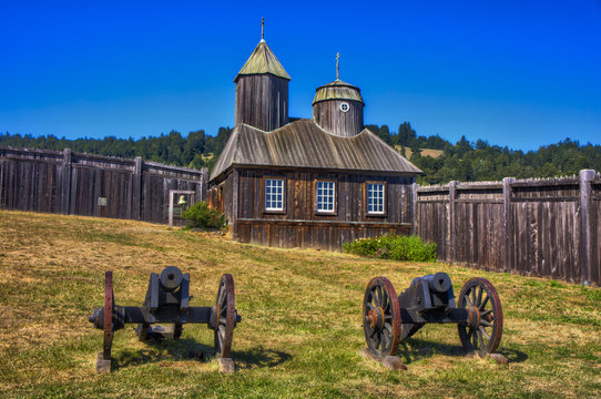 Chapel of Fort Ross