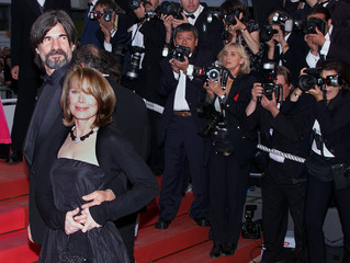 AMERICAN ACTRESS SISSY SPACEK ARRIVES AT CANNES FILM FESTIVAL.