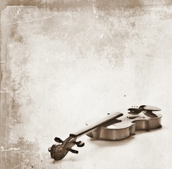 concept grunge vintage violin background