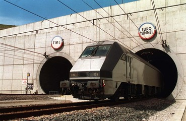 NOVEMBER 1994 FILE PHOTO OF THE CHANNEL TUNNEL.