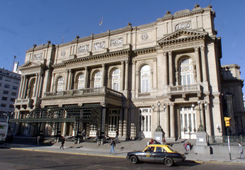One of the world's best known opera houses, the Teatro Colon, remains shut for renovation in the cen..