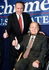 JAMES BRADY ANNOUNCES SUPPORT FOR NEW YORK SENATE CANDIDATE SCHUMER.