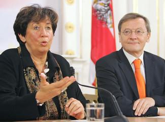 Liese Prokop als neue Innenministerin.