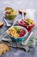 Velvet beet soup