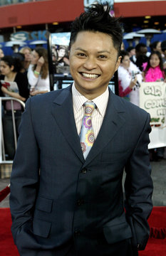 CAST MEMBER ALEC MAPA ARRIVES FOR WORLD PREMIERE OF CONNIE AND CARLA.