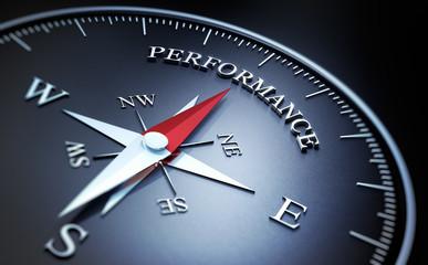 Kompass schwarz Performance