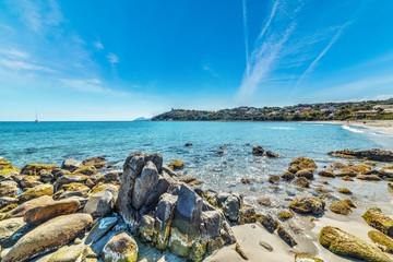 Rocks in Porto Frailis shore