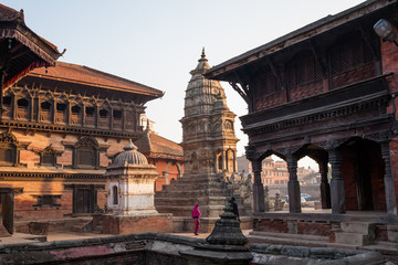 Bhaktapur city before earthquake, Nepal
