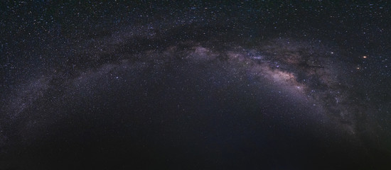 Astrophotography and Nightscape photography, Milky way Panorama
