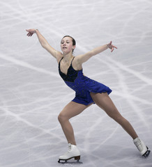 Meissner of U.S performs at the women's free skating program of the World Figure Skating Championships in Tokyo