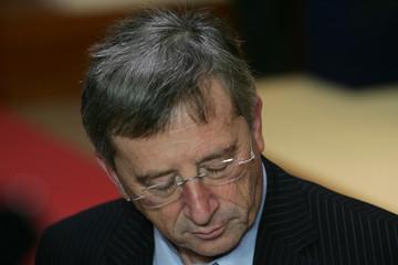 Luxembourg's PM Juncker attends EU summit in Brussels