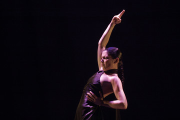 "Spanish dancer Sara Baras performs during her show ""Carmen"" in Palma de Mallorca"