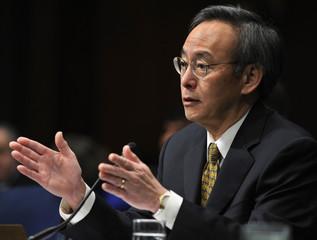 Dr Steven Chu testifies before the Senate Energy Committee on his energy secretary nomination in Washington
