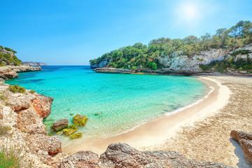 Cala Llombards, Mallorca, Spanien Strand