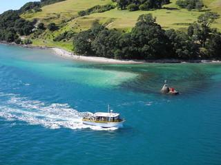 Entering Tauranga Harbor