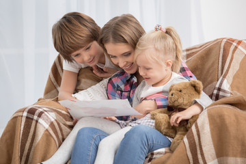 Mother and Children Parenting Motherhood Love Care Concept