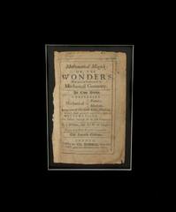 Book - Mathematical Magick 1691