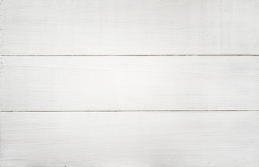 White wood texture background/top view