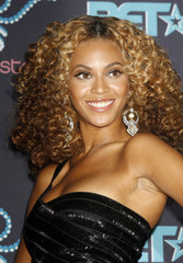 Singer Beyonce poses in the photo room at the 2006 BET Awards at the Shrine Auditorium in Los Angele..