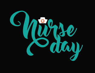 International Nurse Day icon design. EPS10 vector illustration.