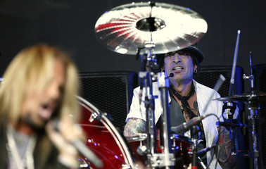 Tommy Lee of Motley Crue performs at Avalon in Hollywood