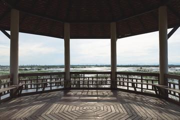 The basin nature background, Khao Sam Roi Yot National Park