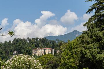 A mountain view on Lake Como