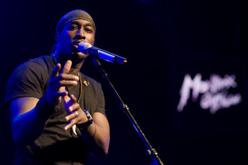 Singer Jermaine Paul performs at the 42nd Montreux Jazz Festival in Montreux